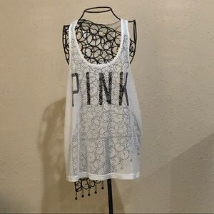 Victoria's Secret Pink swim suit coverup!